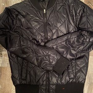 Romeo & Juliet black bomber jacket